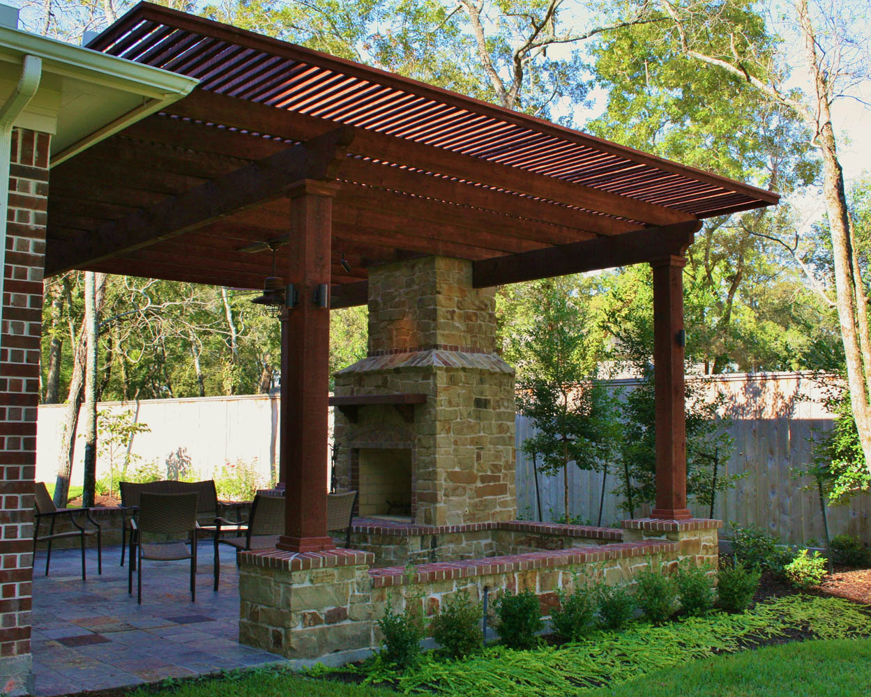 100 Outdoor Pavilions With Fireplaces Google Pergolas